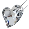 Devoted 2U Heart 27mm Comet Argent Crystal P
